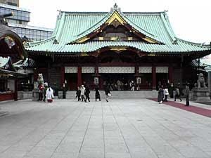 神田明神社殿